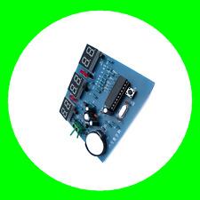 AT89C2051 9V-12V 6 Digital LED Electronic Clock Uhr Parts Components DIY Kit