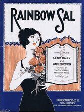 Rainbow Sal,1920,  vintage sheet music