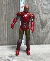 "2010 Hasbro Marvel Iron Man 2 Mark VI / MK VI 4"" Figure"
