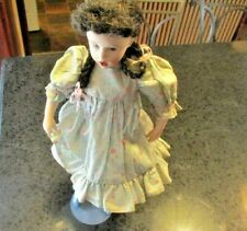 """Franklin Mint Heirloom Mary Mary Quite Contrary 16"""" Porcelain Doll"""