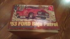 AMT 1953 Ford F1 Baja Patrol Model Truck Vintage