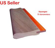 1pcs 1333cm Screen Printing Squeegee Silk Screen Squeegee 75 Durometer