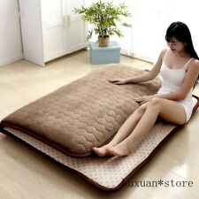 5CM Thickness Mattress Flannel Breathable Bed Mat ComfortableTatame Bedroom Mat