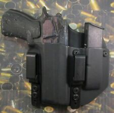 Hunt Ready Holsters: CZ 75 P01 Kydex IWB Holster with Extra Mag Carrier