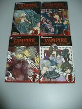 Vampire Knight Volume  4 6 7 & 9 Manga Books Matsuri Hino - 4 Books Bundle