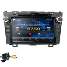 "For HONDA CRV 2007 2011 GPS Navigation 8""Car Stereo CD DVD Player Radio Rear CAM"