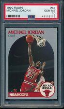 PSA 10 MICHAEL JORDAN 1990-91 Hoops #65 Chicago Bulls RARE HOF GOAT GEM MINT