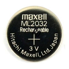 Brand New Original Maxell ML2032 Rechargeable 2032 3V CMOS Backup Battery