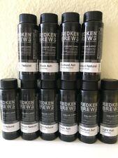 ONE BOTTLE REDKEN FOR MEN 5 minute color camo custom gray protein and quinoa oil