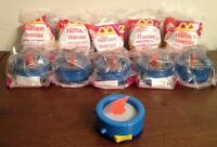Lot of 10 McDonald's HERCULES Happy Meal Toys HADES STOPWATCH -Neat Party Favors