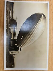 Germany 1936 Zeppelin Europa USA Hindenburg  postcard from Passenger  H63