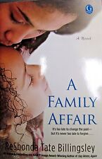 A Family Affair by ReShonda Tate Billingsley new hard cover Book Club edition
