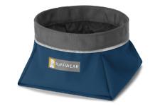 Ruffwear Quencher Dog Water Bowl 20502/460 Blue Moon Size Medium