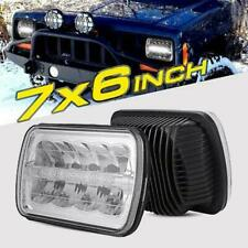 """2x 5x7"""" LED Headlight 7x6 Hi/Lo DRL Lamp for Ford F250 F350 F450 F550 Super Duty"""