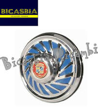 7297 - COPRIRUOTA NOSTALGIA CROMATO PER RUOTE 3-50-8 VESPA 125 150 SUPER