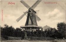 CPA HALFWEG Korenmolen a.d. IJWEG NETHERLANDS (603687)