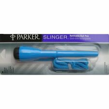 Parker Slinger Blue Ballpoint Pen Ring Around The Neck New  In Box Not  Packaged