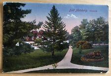 AK aus Bad Meinberg ca. 1900 Kurpark gelaufen