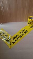 Gas Underground Warning Tape 150mm x 20mt