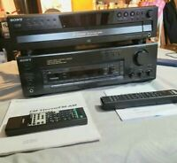 Sony STR-D515 AV Receiver AM FM Stereo Home Theater With Sony 5 Disc Cd Player