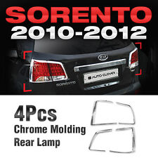 for KIA 2010-2012 Sorento R Chrome Tail Light Rear Lamp Garnish Molding Cover