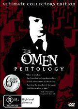The Omen Pentology (DVD, 2006, 6-Disc Set)
