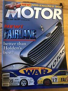 Motor Car magazine APRIL 1995 LTD MAXIMA CALIAI GTR McLaren f1 statesman MG MX5