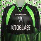 MEDIUM 98-00 CHELSEA #1 DE GOEY Champions League Goal Keeper Football Shirt
