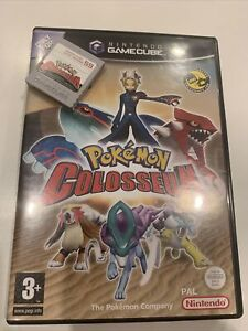 Pokemon Colosseum (Nintendo GameCube, 2004) PAL Very Good Condition