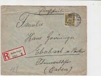 german 1927 stamps cover  ref 18838