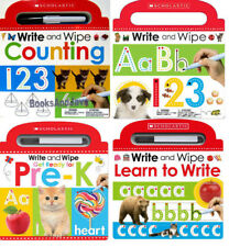 Write and Wipe Learn to Write,Counting,ABC,Ready for Pre-K (2016, 4 Board Books)