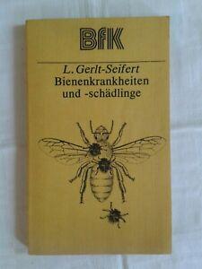 Bienenkrankheiten und -schädlinge, Bienen Honig Imker, DDR-Fachbuch 1980