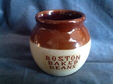 Vintage Boston Baked Beans Crock Pottery