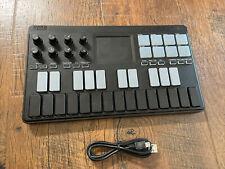 KORG Nanokey studio USB  Wireless All-in-One Mobile MIDI Key board Battery