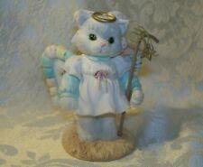 A Purr-fect Angel From Above 1993 Priscilla Hillman Enesco Kitten Figurine