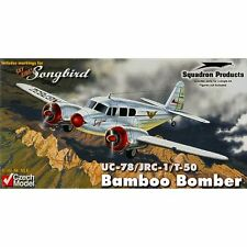 Czech Model 4819 UC-78/JRC-1/T-50 Bobcat Bamboo Bomber 1/48 scale plastic model