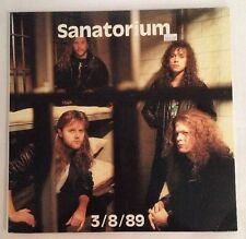 Metallica Sanatorium Very Rare Live 2 Record Set - After Hours Sanitarium 3/8/89