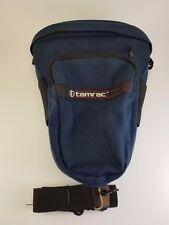Tamrac Dark Blue 515 Holster Camera Bag Digital DSLR Bag Made in USA w/ Strap