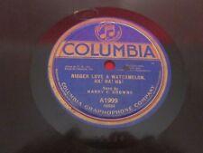 "78rpm ""NIGGER LOVE A WATERMELON -HA,HA,HA""-Harry C Browne"