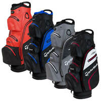TAYLORMADE 2020 DELUXE WATERPROOF 15 WAY DIVIDER GOLF CART / TROLLEY BAG