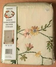 "Victoria Classics Fabric Shower Curtain 70"" x 72"" NIP"