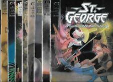 ST. GEORGE #1-#8 SET (VF/NM) #2 IS 1ST APPEARANCE OF SHRECK / TERROR