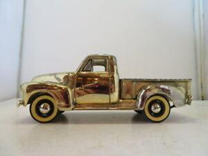 Craftsman 1949 Chevy Pickup Gold Edition Fiftieth Ann.Truck Die-Cast Bank