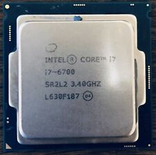 intel Core i7-6700, SR2L2, 3.40GHz processor