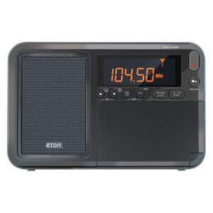 "ETON NELITETRAVELER Mini Shortwave Radio,Digital,3-1/2"" H"