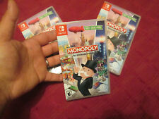 Monopoly NINTENDO SWITCH VIDEOGAME BRAND NEW FACTORY SEALED