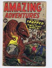 Amazing Adventures #3 (FR+) 1961 Marvel Comic Jack Kirby, Lee, Ditko (c#21998)