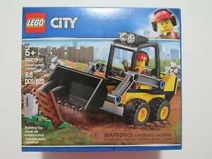 LEGO City Construction Loader Set 60219 88 Pieces New Sealed