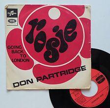 "Vinyle 45T Don Partridge  ""Rosie"""