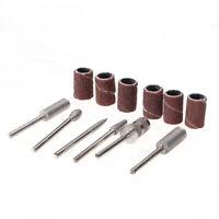 12pcs Nail Kit Manicure Pedicure File Rotary Drill Bit Sanding Band Tool Set